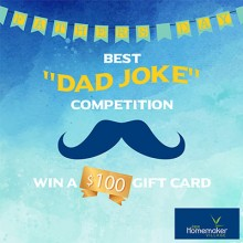 WIN dad a $100 Jape Homemaker Village gift card just in time for Father's Day!