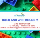 Build & WIN Lego Competition.