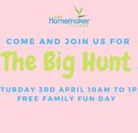 Jape Homemaker Village – The BIG Hunt!